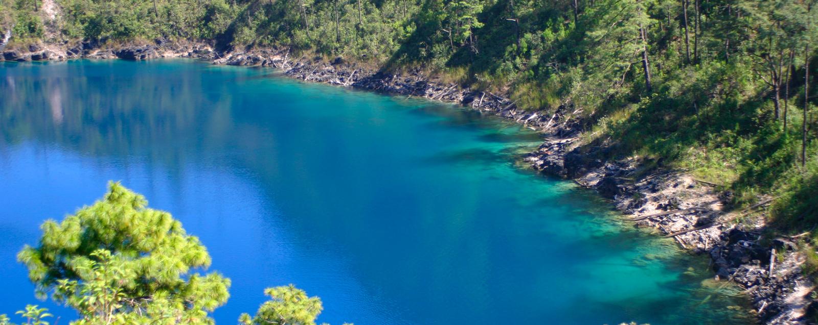 Casas y terrenos cerca de los lagos de montebello chiapas for Lagunas para cachamas